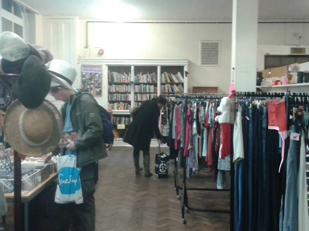 The Well charity shop Deptford 2015