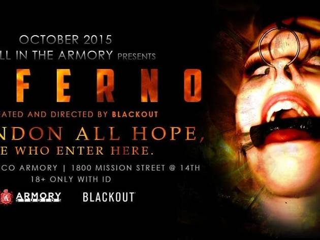 Hell in the Armory: Inferno, one of the best Halloween events in San Francisco