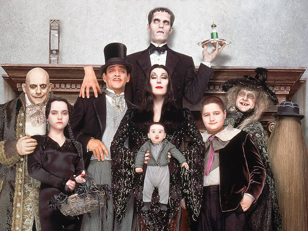 films for halloween costumes addams family