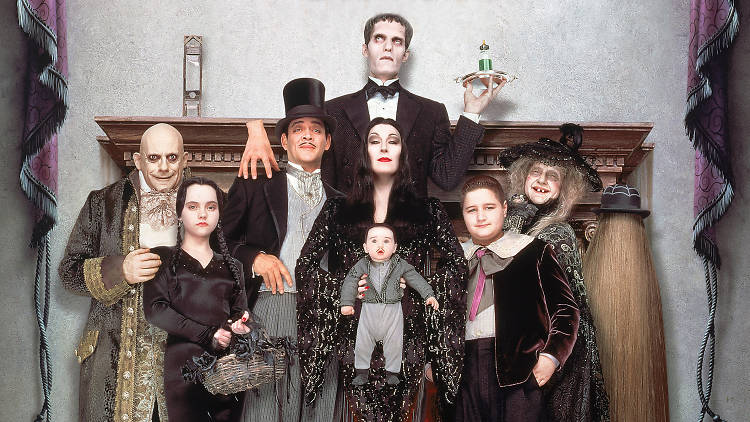 Films for Halloween costumes, Addams Family