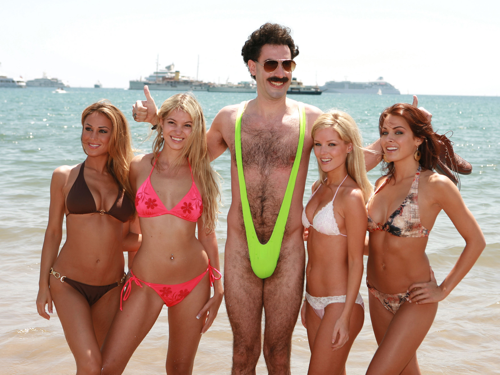 Films to plan your halloween costume, borat