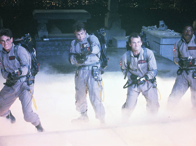 films for halloween costume ideas, ghostbusters