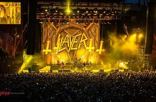 Slayer + Anthrax + Kvelertak