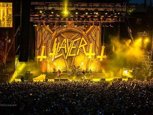 Slayer + Anthrax + Kvelertak