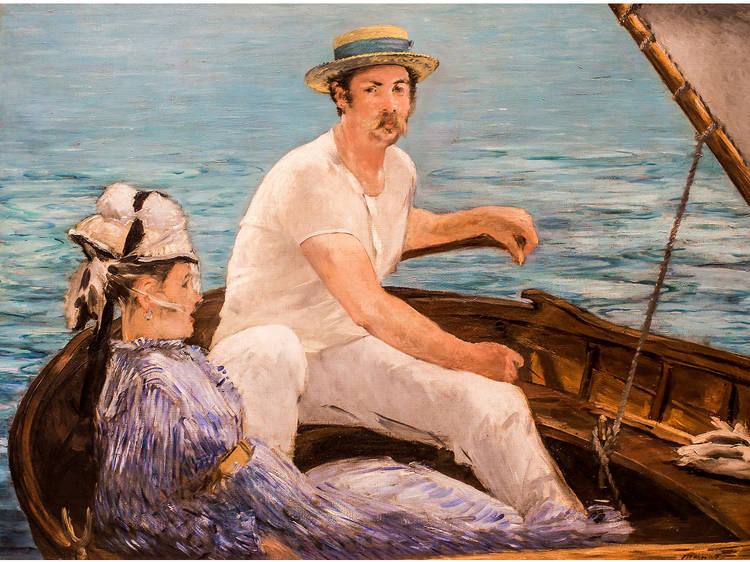 Édouard Manet, Boating (1874)