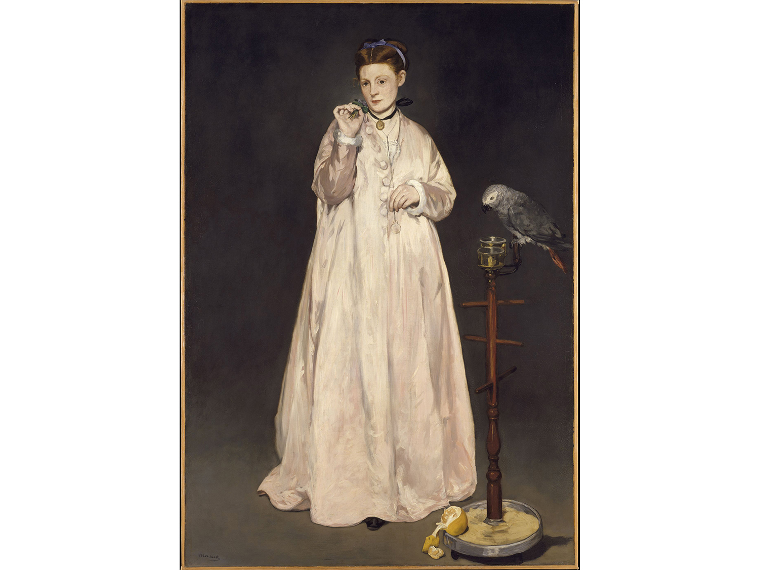 Édouard Manet, Young Lady in 1866, 1866