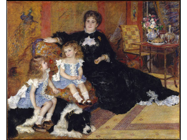 Auguste Renoir, Madame Georges Charpentier (Marguérite-Louise Lemonnier, 1848–1904) and Her Children, Georgette-Berthe (1872–1945) and Paul-Émile-Charles (1875–1895), 1878