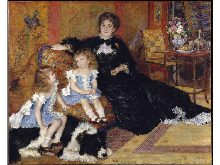 Auguste Renoir, Madame Georges Charpentier (née Marguérite-Louise Lemonnier, 1848–1904) and Her Children, Georgette-Berthe (1872–1945) and Paul-Émile-Charles (1875–1895) (1878)