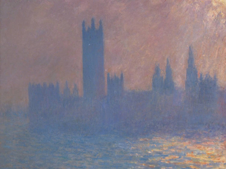 Claude Monet, Houses of Parliament, Sunlight Effect (Le Parlement, effet de soleil) (1903)