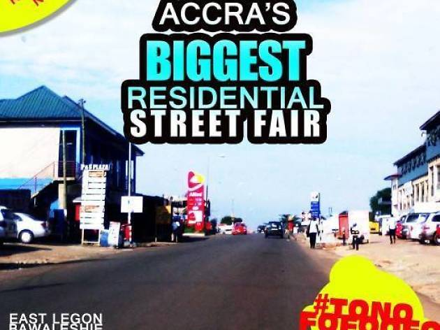 East Legon Street Fair