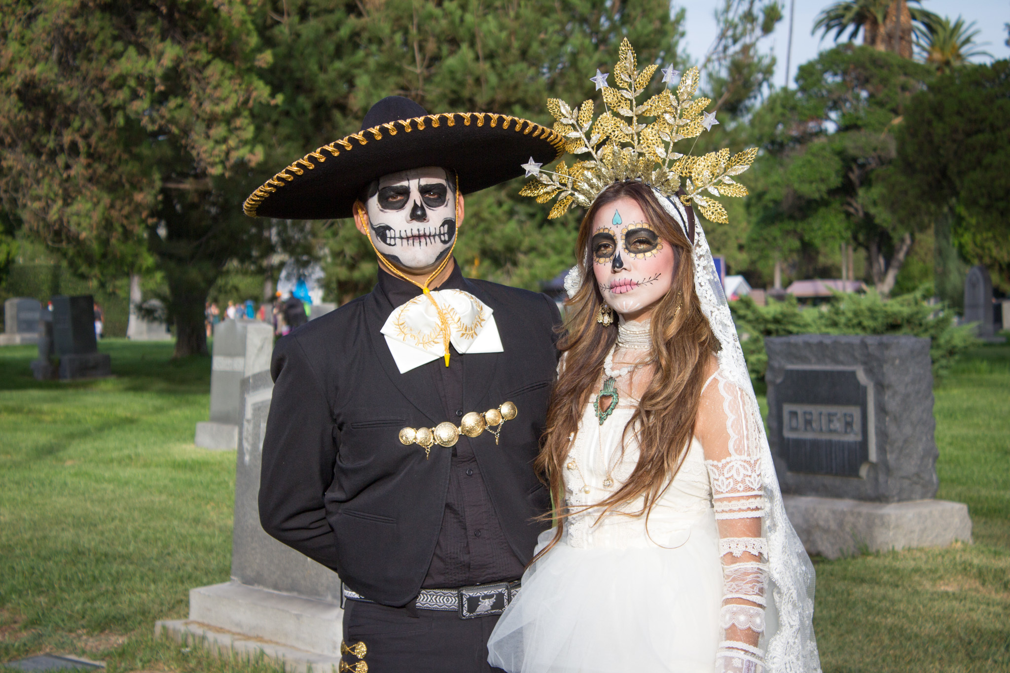 Photos of Day of the Dead at Hollywood Forever 2015