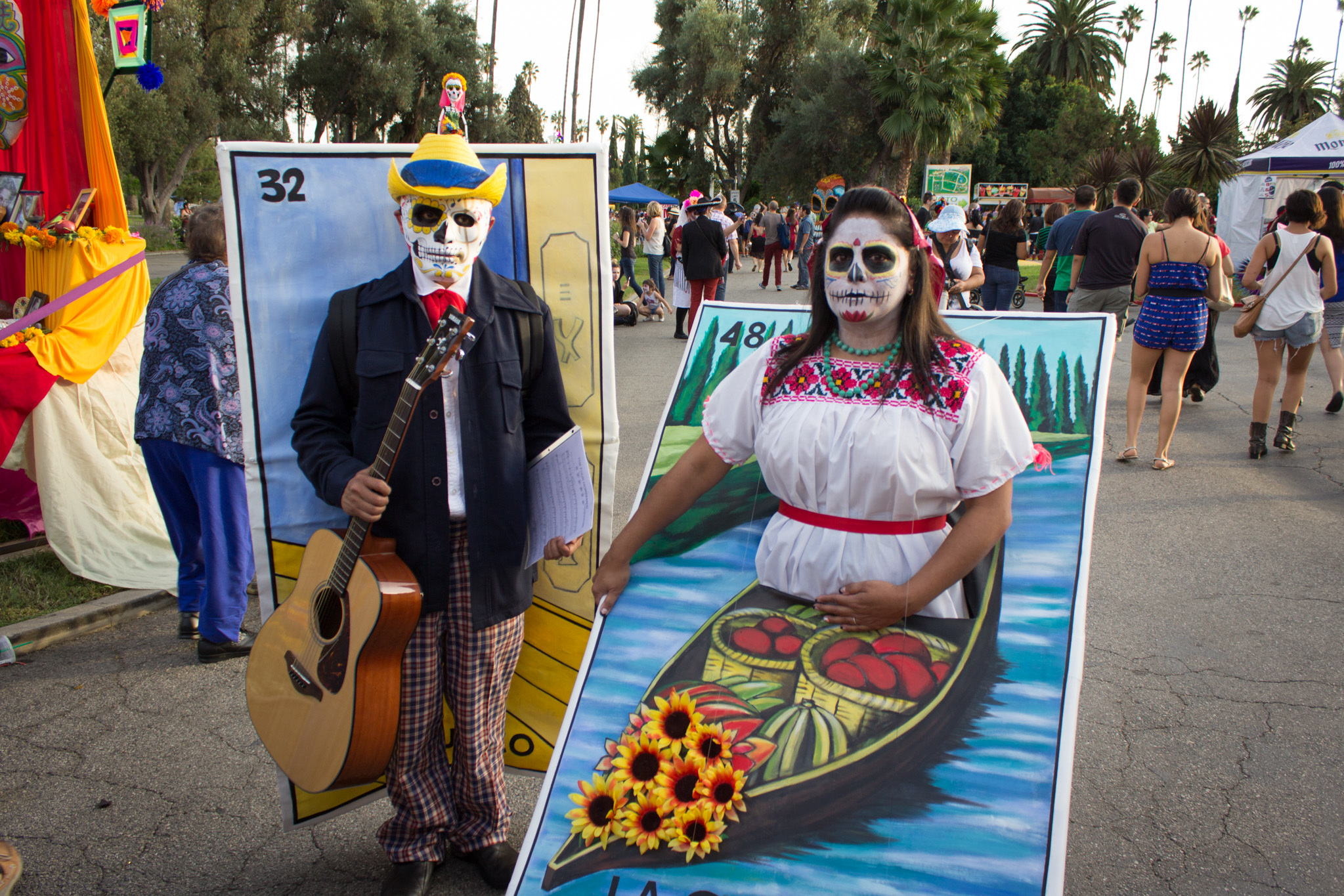Day of the Dead at Hollywood Forever 2015