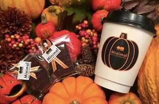 かぼちゃのホットチョコレートドリンク