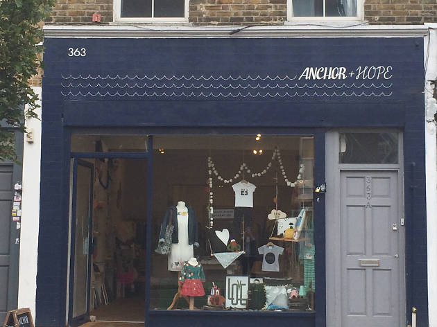 best maternity shops London: Anchor + Hope
