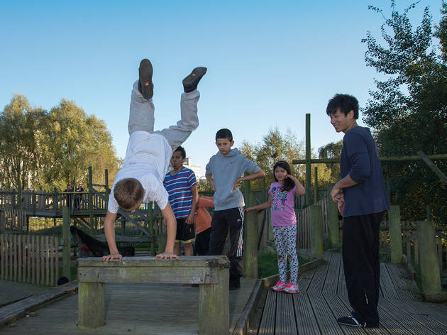 Youth Parkour Camp