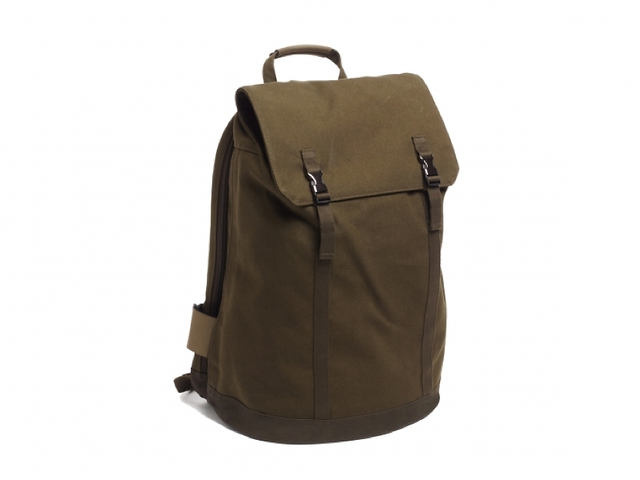Olive backpack by C6, £135