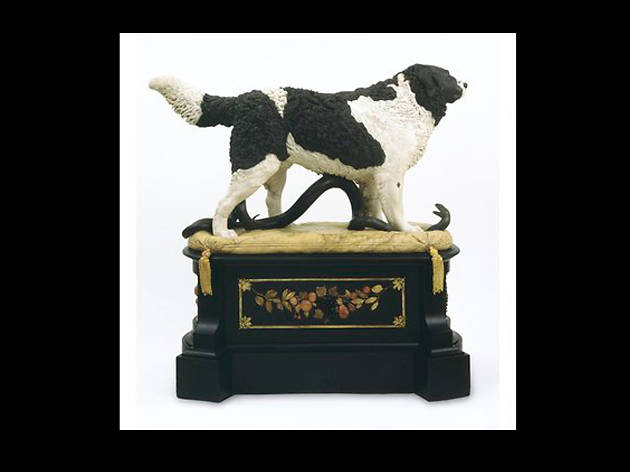 Bashaw, 'the faithful friend of man', a Newfoundland dog, by Matthew Cotes Wyatt, ca. 1832-1834 (c) Victoria and Albert Museum, London.jp