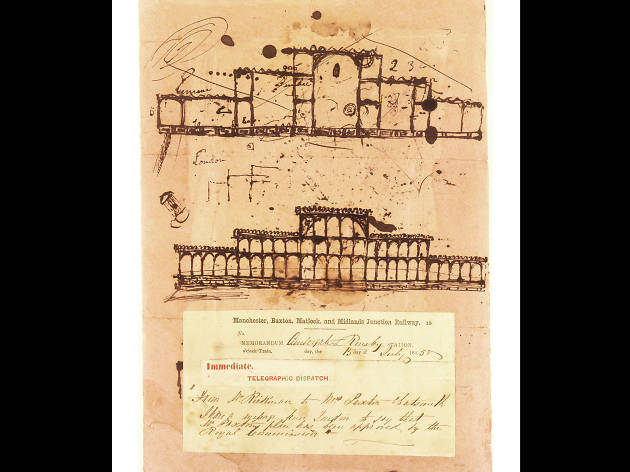 First sketch of Crystal Palace, Great Exhibition 1851, by Joseph Paxton (c) Victoria and Albert Museum, London.jpg