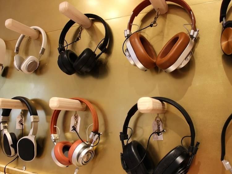 Un casque audio chez Retrofutur