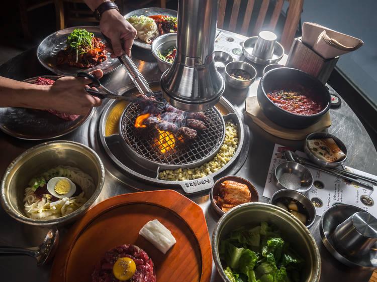 Short ribs at Kang Ho Dong Baekjeong