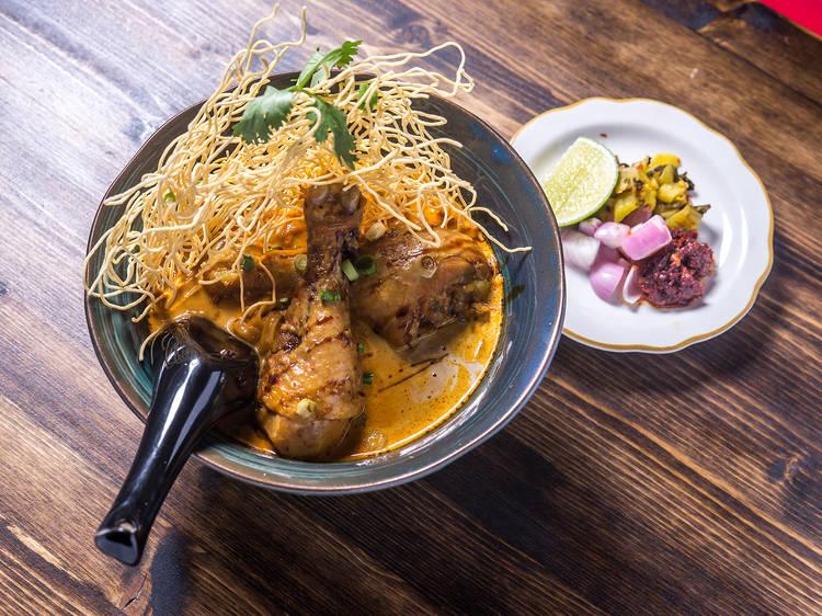 Khao Soi at Chiang Mai