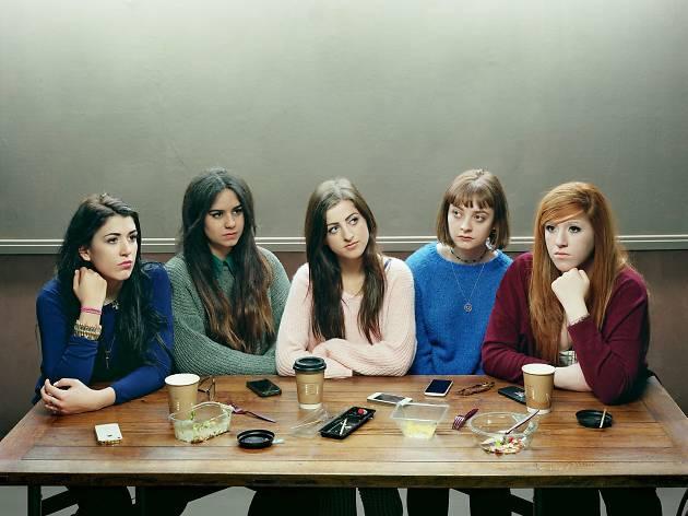 (David Stewart, 'Five Girls', 2014. © David Stewart)
