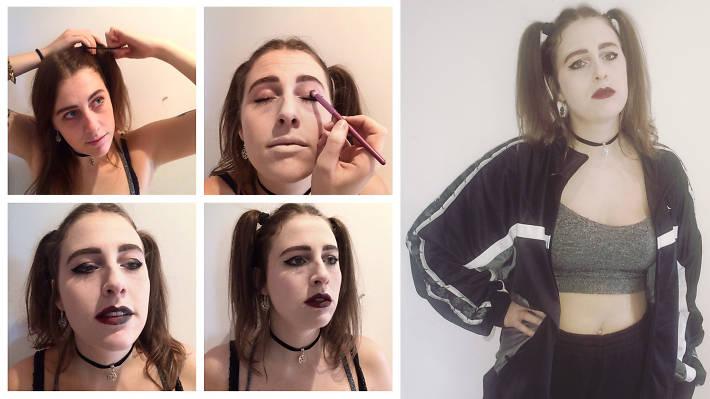 Health Goth Halloween costume