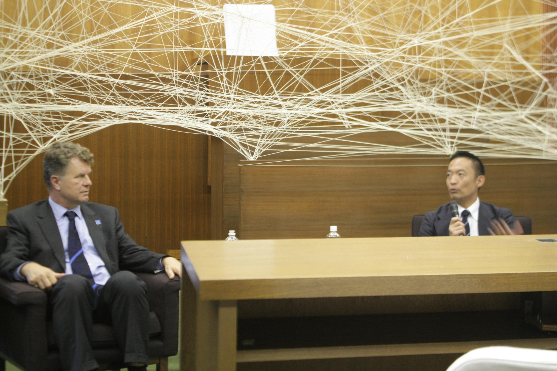 世界初の同性婚を実現させたボリス・ディトリッヒが渋谷区長と対談