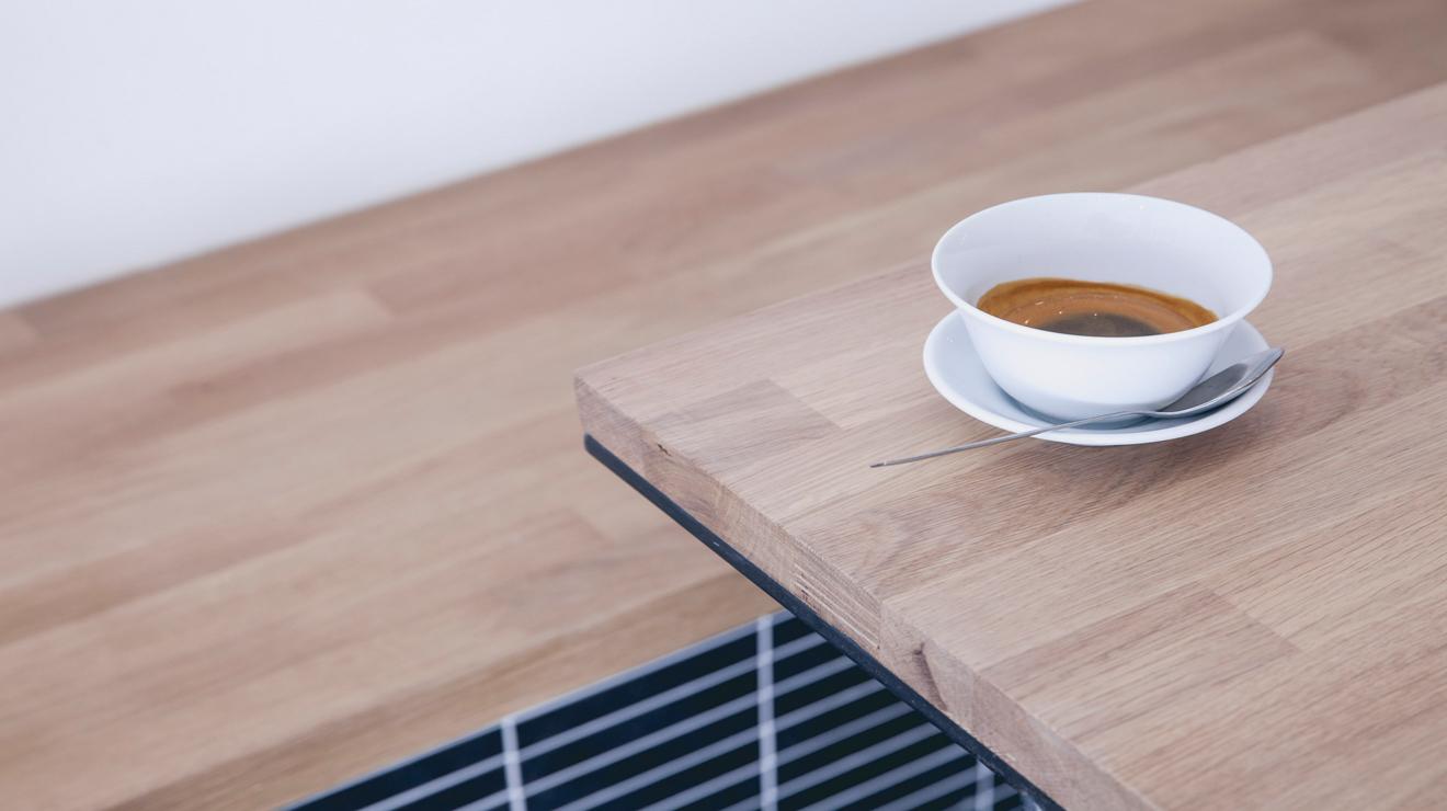 China Plate Espresso