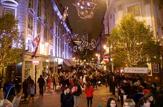 Seven Dials and St Martin's Courtyard Christmas Shopping Event