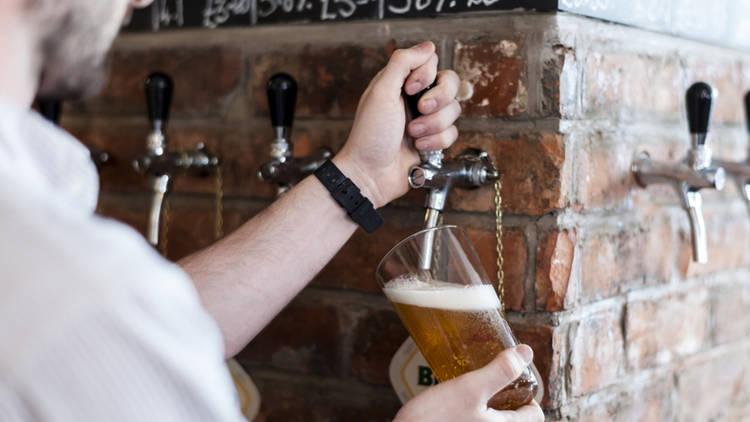 best craft beer bars in london, holborn whippet