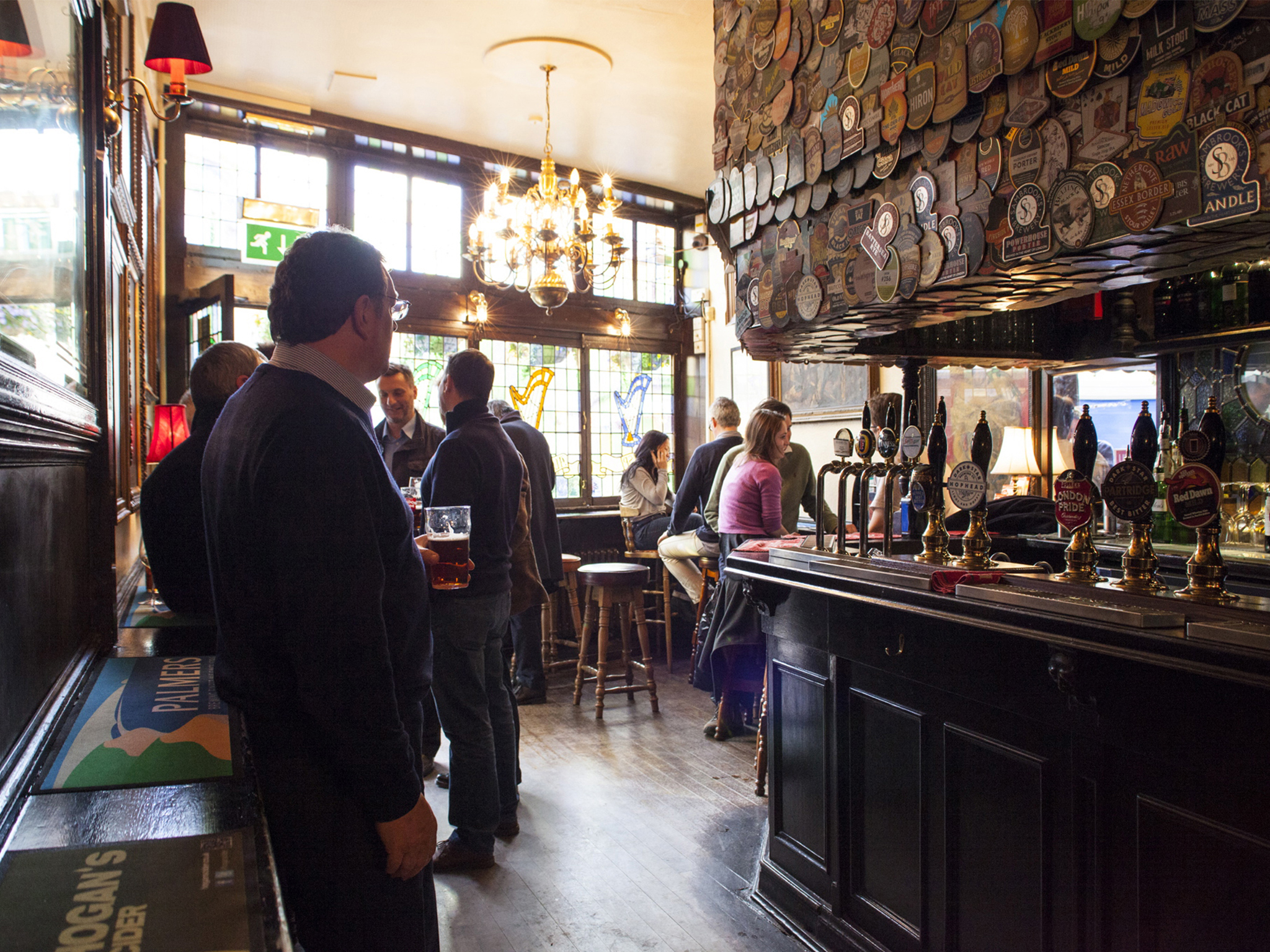 best craft beer bars in london, harp