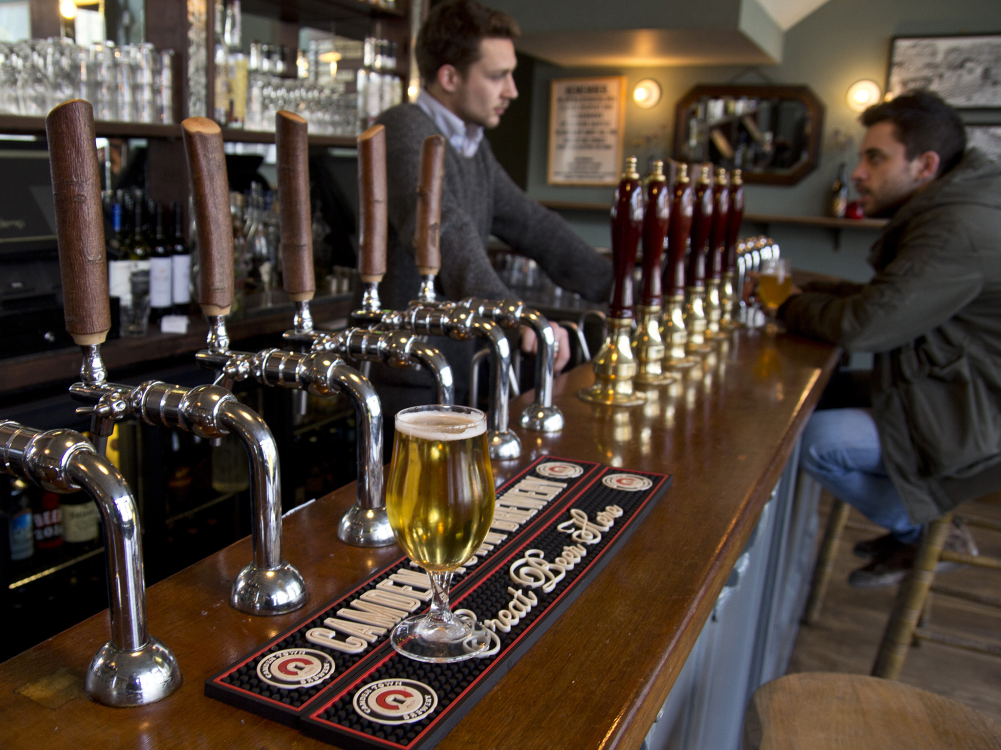 best craft beer bars in London, earl of essex