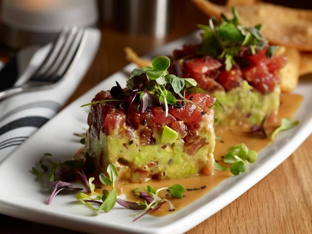Tuna tartare at Silver