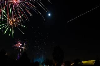 Dukes Meadows Fireworks Display