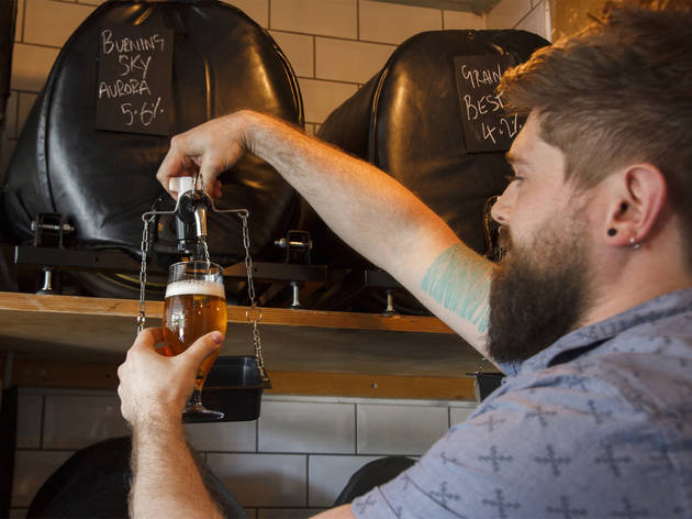best craft beer bars in london, the beer shop