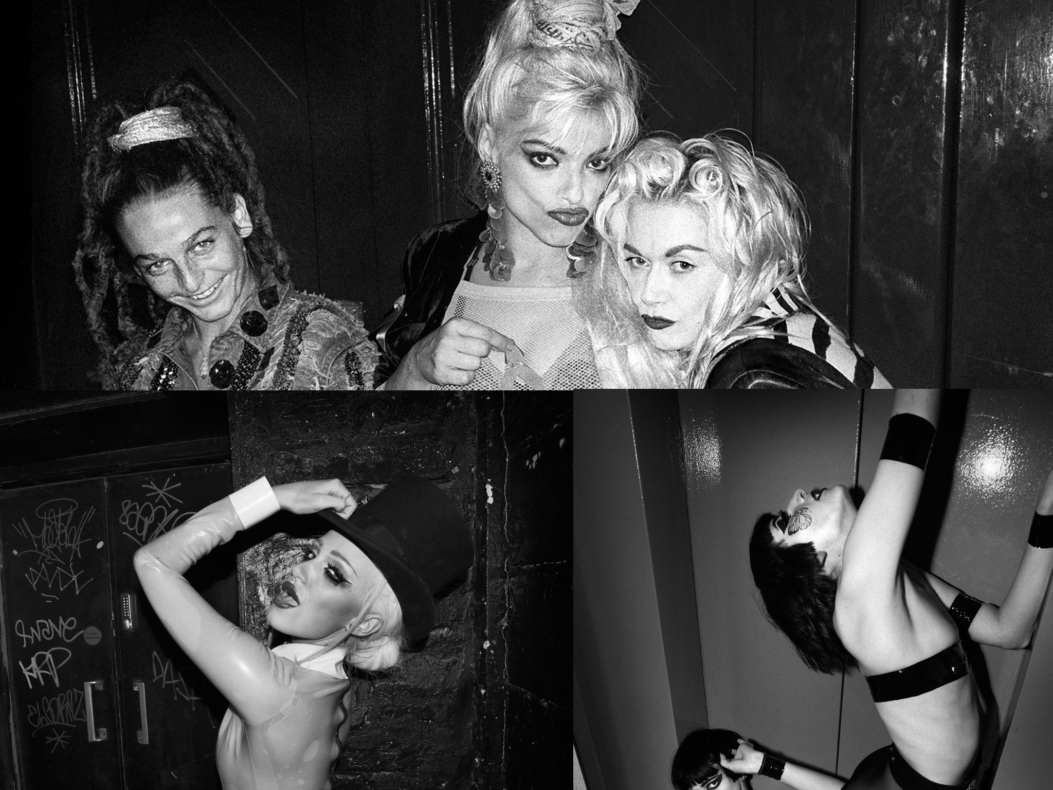 Ten photos of London's nightlife by Derek Ridgers