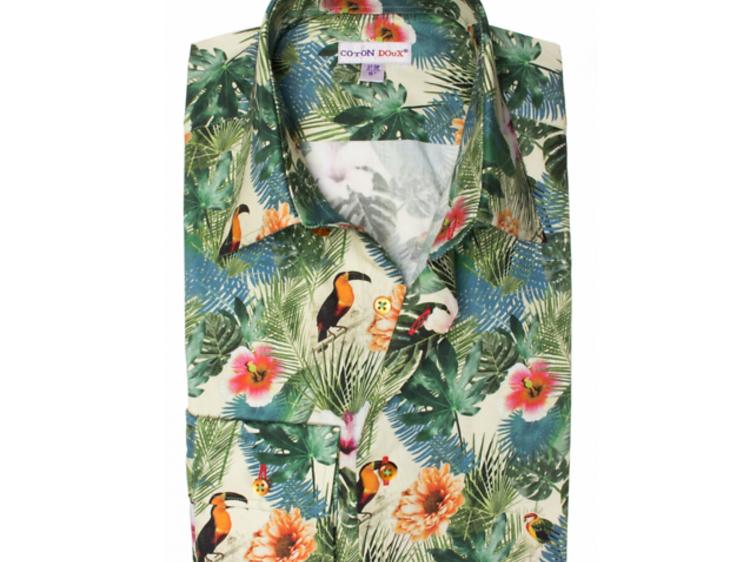 Une chemise à motifs très cool