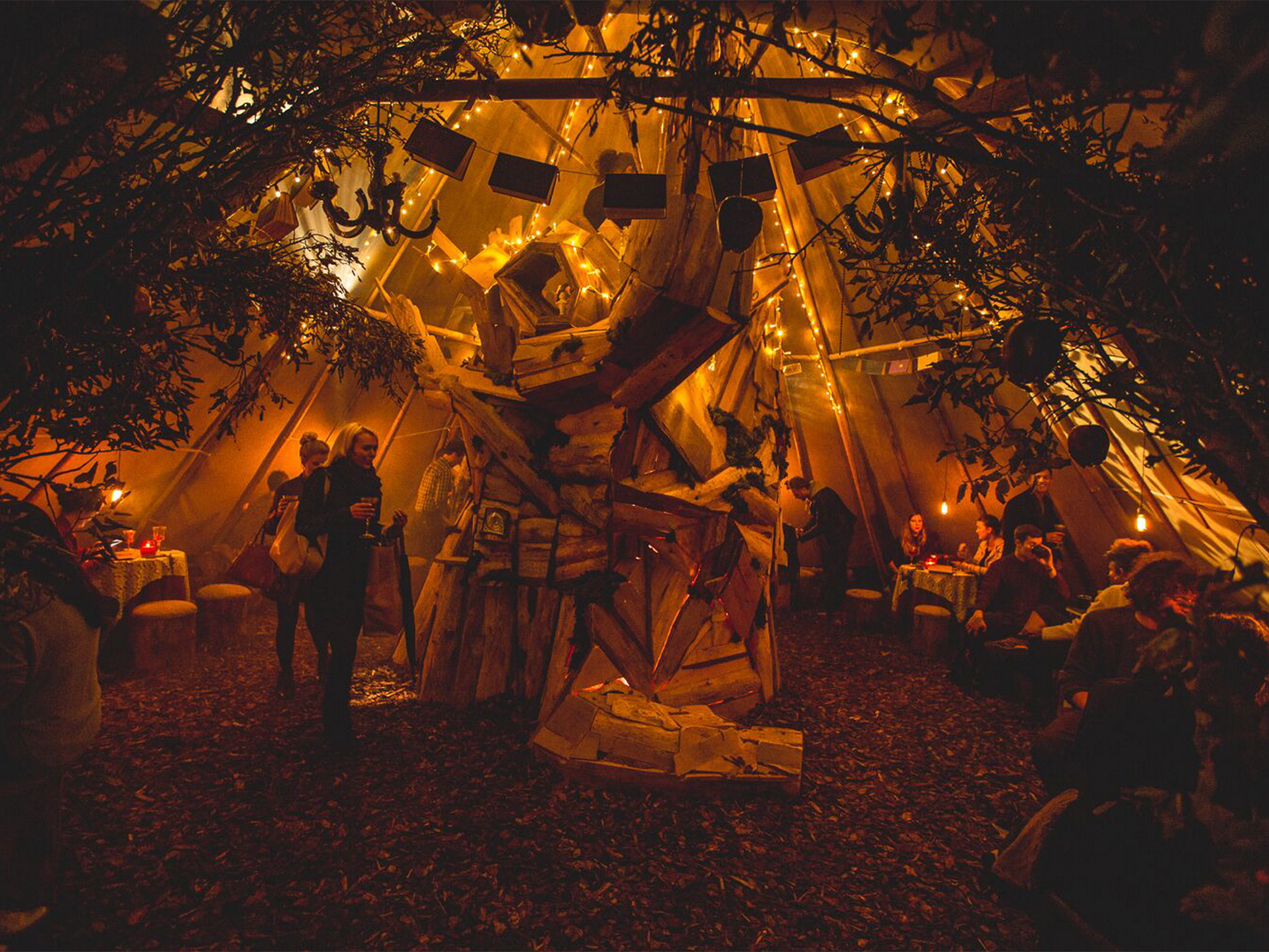 Enjoy rooftop fairy tales and ales at the Queen of Hoxton