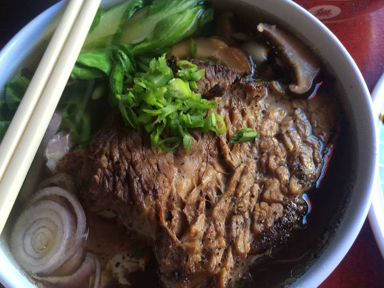 Pho at Lucy's Vietnamese Kitchen