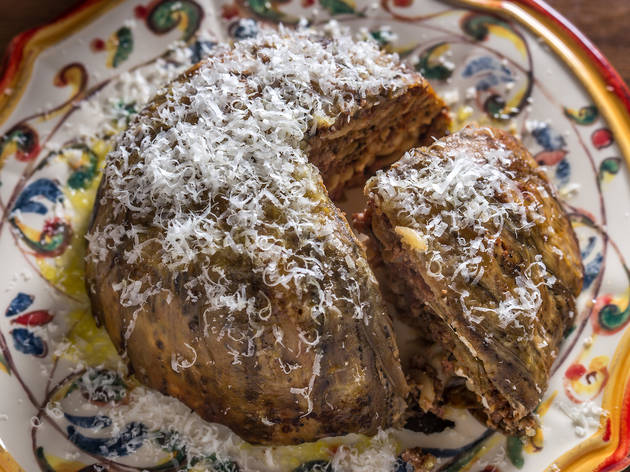 Timballo de Zanghi at Sessanta
