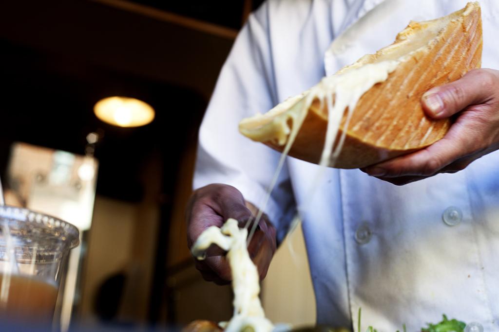 Raclette Savoyarde at Raclette