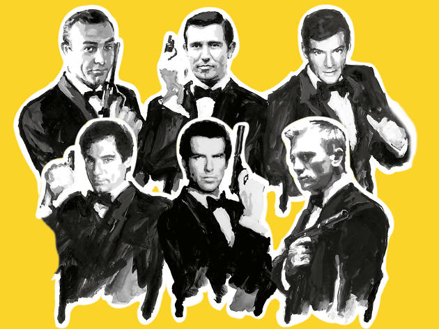 Los James Bond del cine