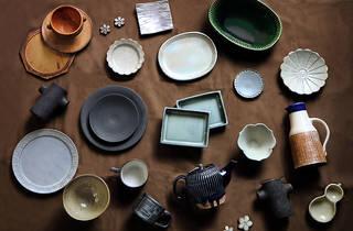 日本各地を巡って集めた、こだわりのうつわコレクション