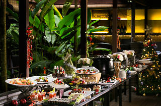 Christmas Buffet and Cocktails at The Halia at Singapore Botanic Gardens