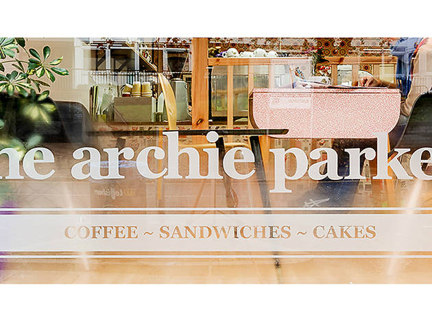 Archie Parker cafe Forest Hill 2015