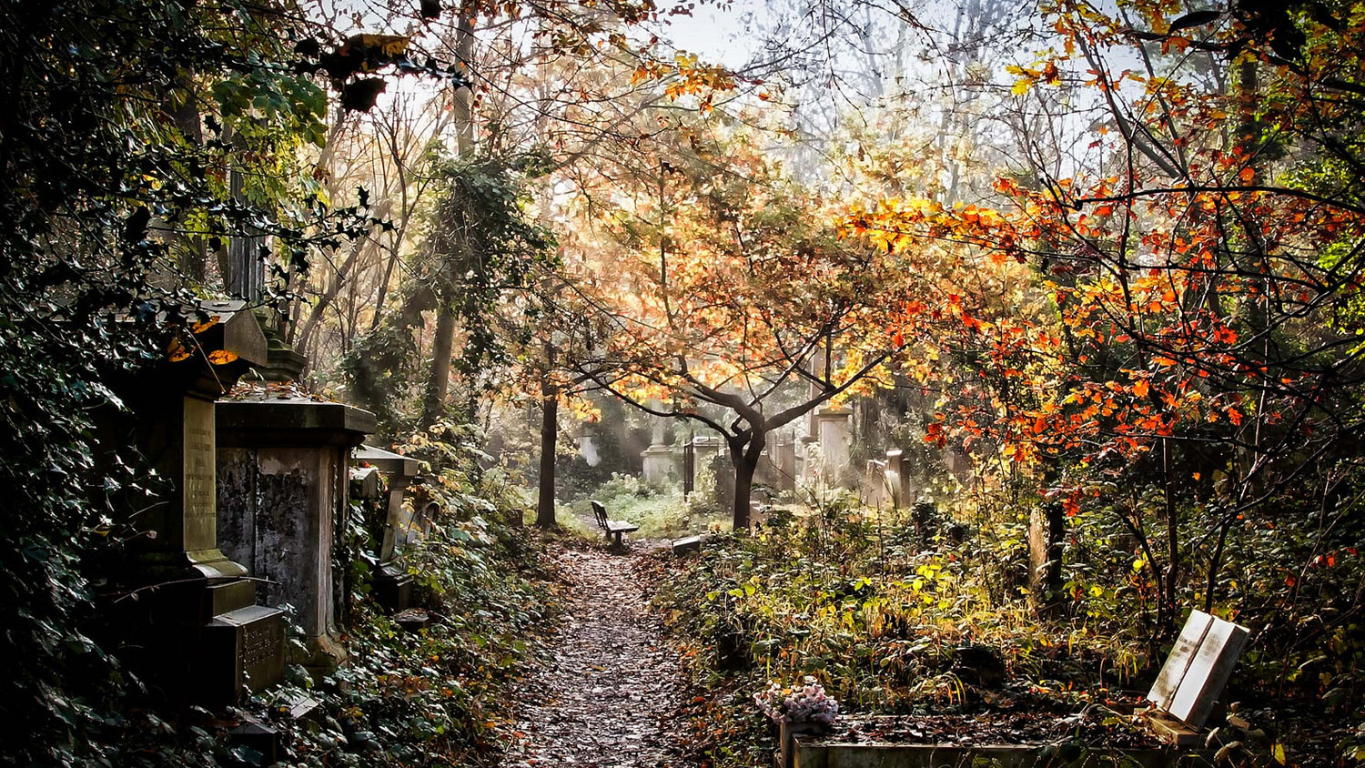 In pictures: the magnificent cemeteries of London