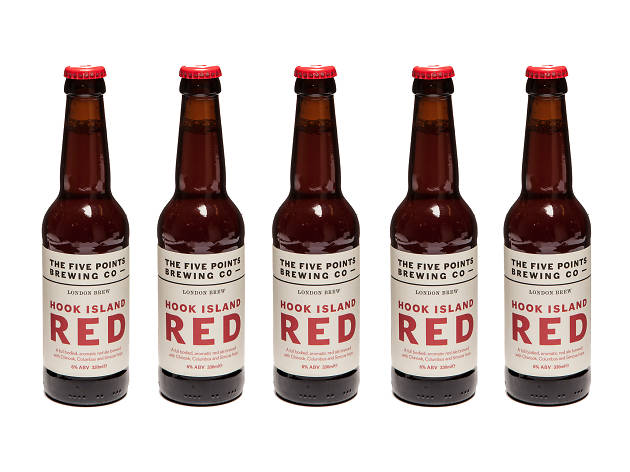 London's best craft beer, Hook Island Red
