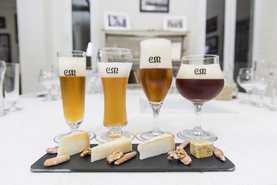 Catas para amantes de la cerveza y el queso