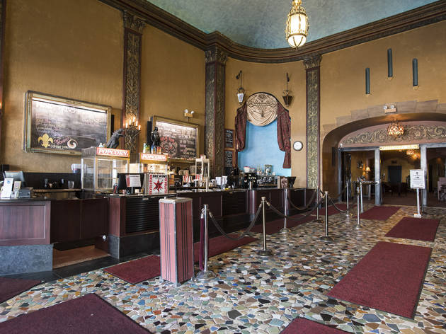 The updated lobby of The Music Box.